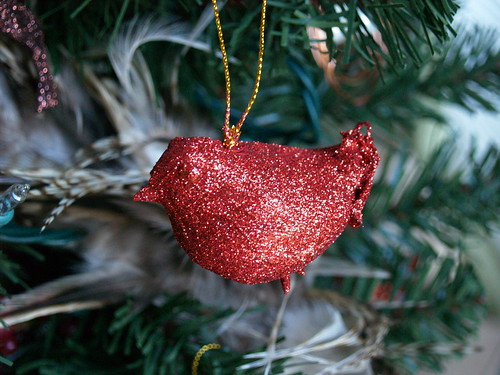 Glittered Bird