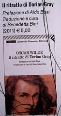 Leggere a ogni costo, Feltrinelli editore, progetto grafico dell'Ufficio Grafico Feltrinelli, p. int. (part), 3, Oscar Wilde