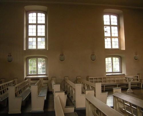 Dorfkirche Schöneberg - Innenansicht