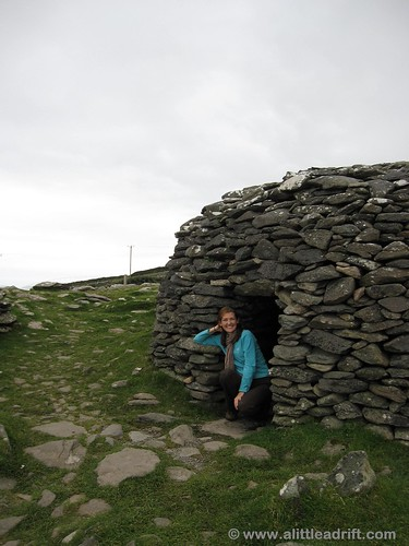 An Old Beehive Hut