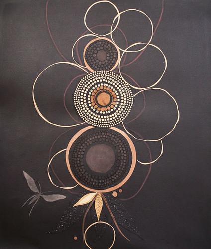 Lena Wolfe moth circles