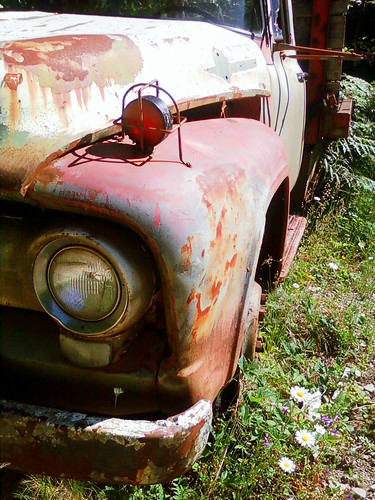 Antique Truck at Jawbone Flats 2