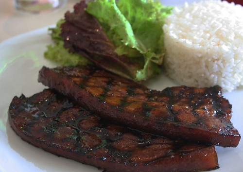 Carolina Barbequed Country Style Pork at Unit 8 Cafe