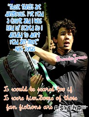 what Nick thinks about fan fictions xD