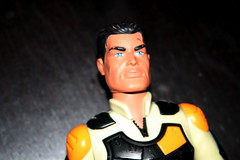 Action man closeup