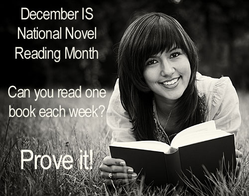 National Novel Reading Month