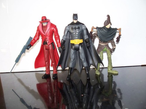 Gotham Knights: Deadshot, Batman, and the Scarecrow