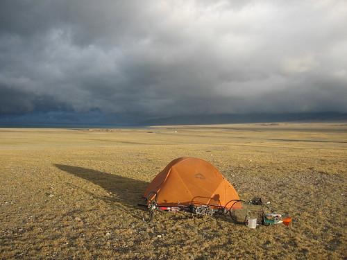 Camping, Xinjiang China