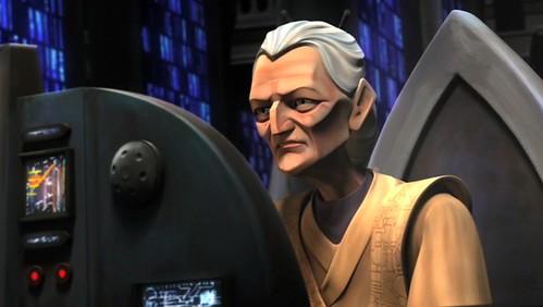 Jocasta Nu - die Hütterin des Jedi Wissens