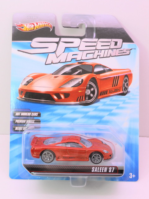 hot wheels speed machines saleen s7 orange (1)