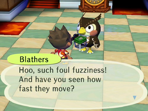 Blathers on Tarantulas