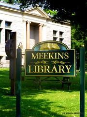 Meekins Library in Worthington, MA
