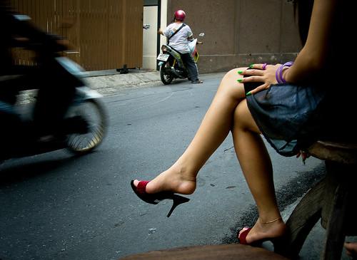 waiting legs