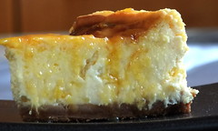 Passion Fruit Cheesecake 1 - Homemade Cakes and Desserts Blog