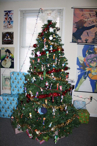 Front view of the tree