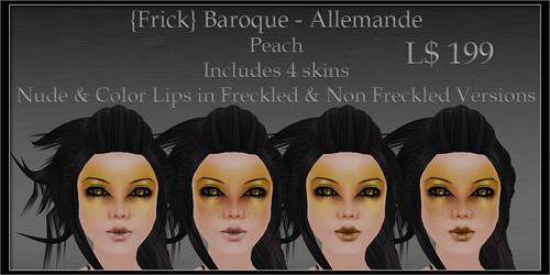 Frick - Baroque - Allemande - Peach - Ad