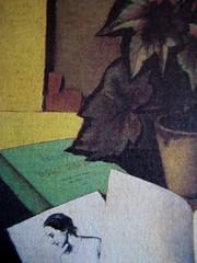 Angelo Morino, Quando internet non c'era, Sellerio 2009, ill. di cop.: Begonia e libro, di Francesco Trombadori (part.), 7