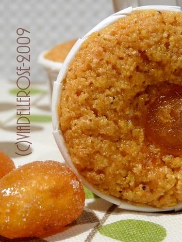 Tortine alla zucca profumate al mandarino et kumquat