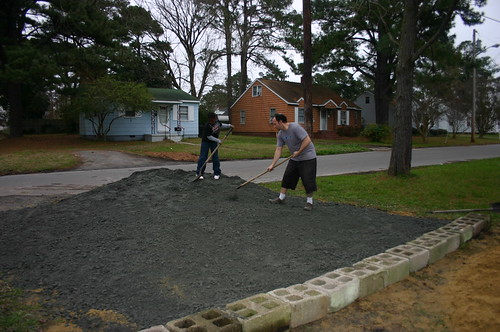 New Driveway - Help Arrives!  Jacal With Ryan