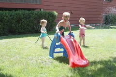 Slide in the Sprinkler