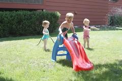 Slide in the Sprinkler
