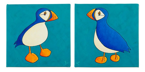affinity puffins