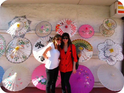 AMY & ME IN CHINA TOWN