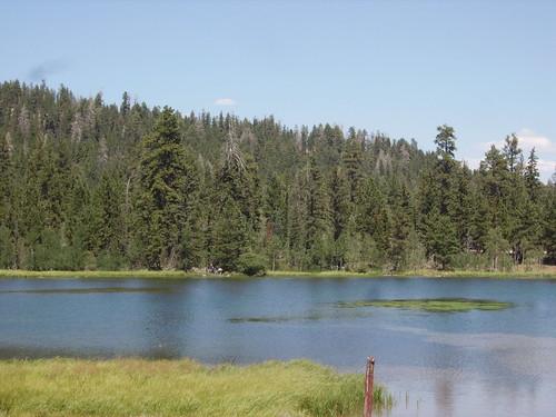 A lake in Bryce Canyon