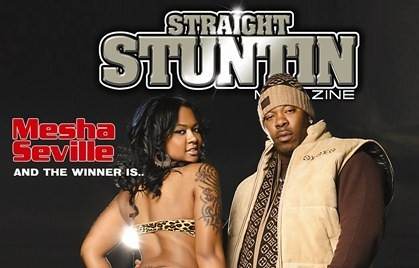 SS Mag Cover Busta Rhymes & Mesha Seville