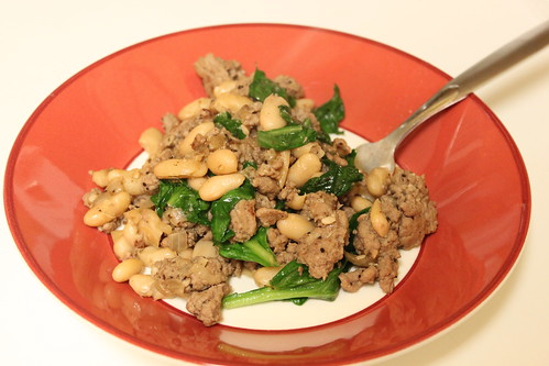 Crumbs & Creativity | Turkey, Spinach & Canellini Beans