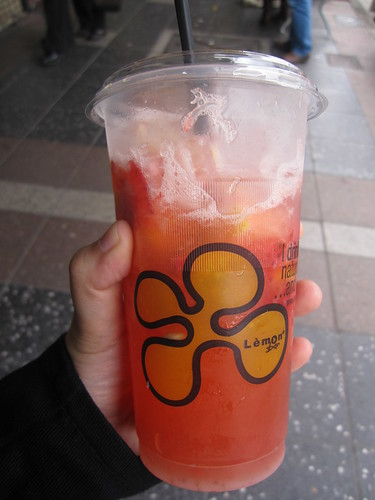 Lemon Strawberry Drink