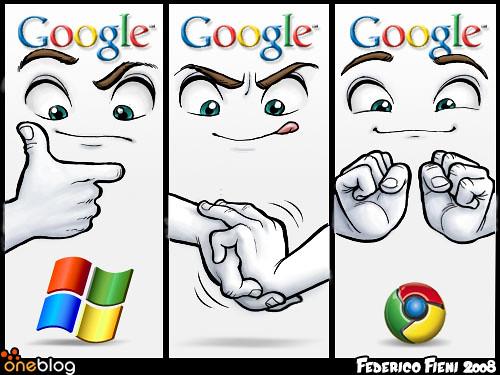 Google vs Microsoft  --Chrome