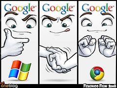 Google vs Microsoft  --Chrome