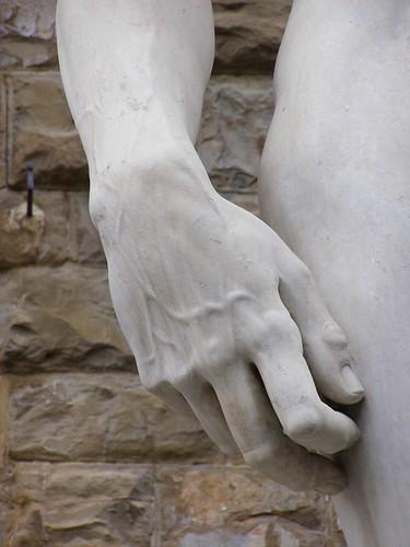 Detalle de la mano