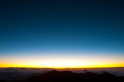 Maui Volcano Sunrise