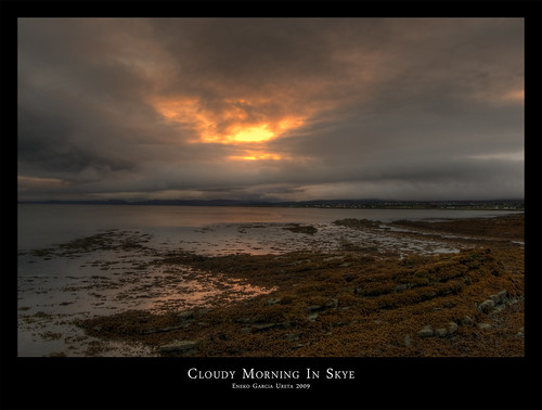 CLOUDY MORNING IN SKYE