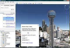 The Reunion Tower - Dallas