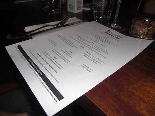 Blaggers Banquet 2009