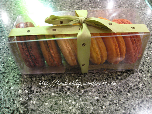 Bouchon Bakery - assorted macarons