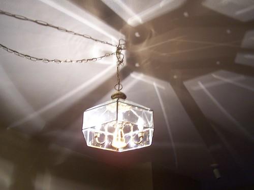 Brass lamp needs to go!