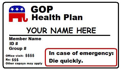 Republican Health Plan