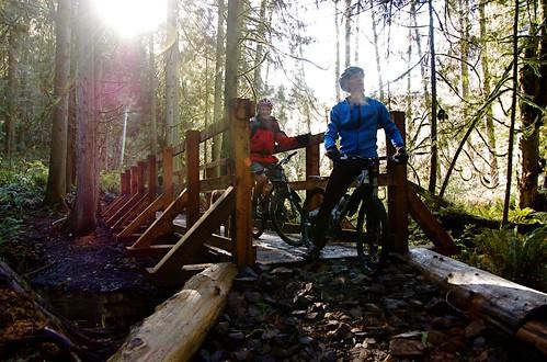Grand Ridge: Canyon Creek bridge
