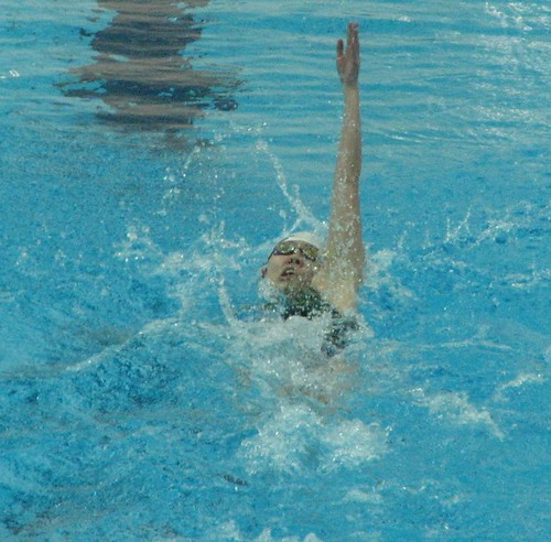 8ASC關穎儀在100米仰泳發力游