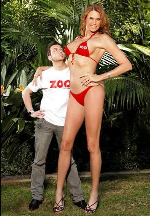 model wanita tinggi