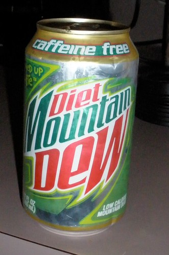 Caffeine Free Diet Mountain Dew