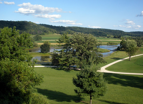 The view from Taliesin
