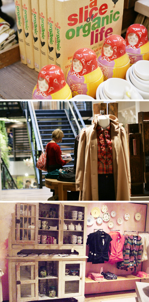 London Anthropologie Visit