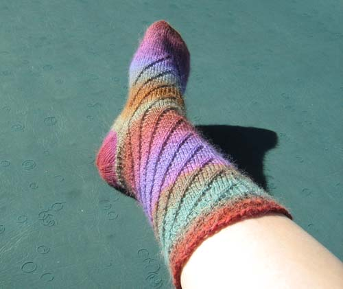 footprint sock one complete