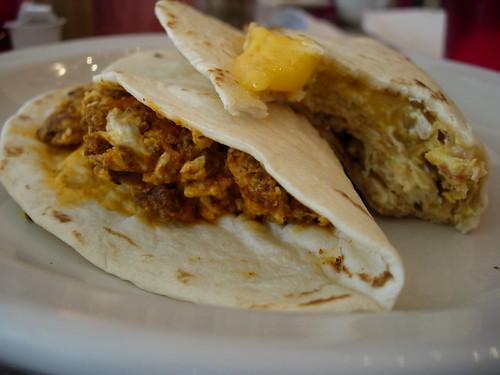 breakfast tacos @ Juan in a Million
