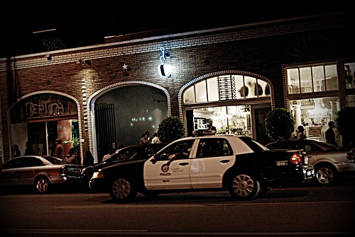 The Police were out in full force last night at First Friday by you.